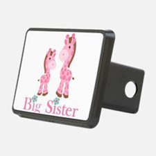 Big Sister Pink Giraffe Hitch Cover