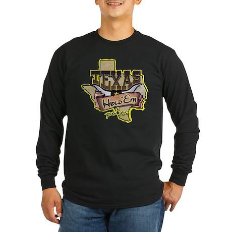 Texas_black Long Sleeve T-Shirt