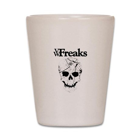 Das VW-Freaks Mascot - Branded Skull Shot Glass