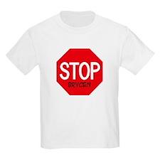 Stop Brycen Kids T-Shirt