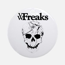 Das VW-Freaks Mascot - Branded Skull Ornament (Rou