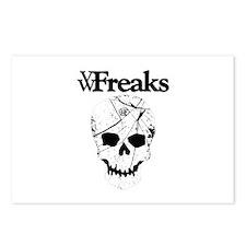 Das VW-Freaks Mascot - Branded Skull Postcards (Pa