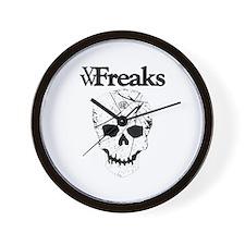 Das VW-Freaks Mascot - Branded Skull Wall Clock