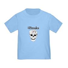 Das VW-Freaks Mascot - Branded Skull T
