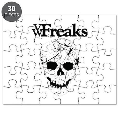 Das VW-Freaks Mascot - Branded Skull Puzzle