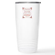 Einstein on Miracles Travel Mug