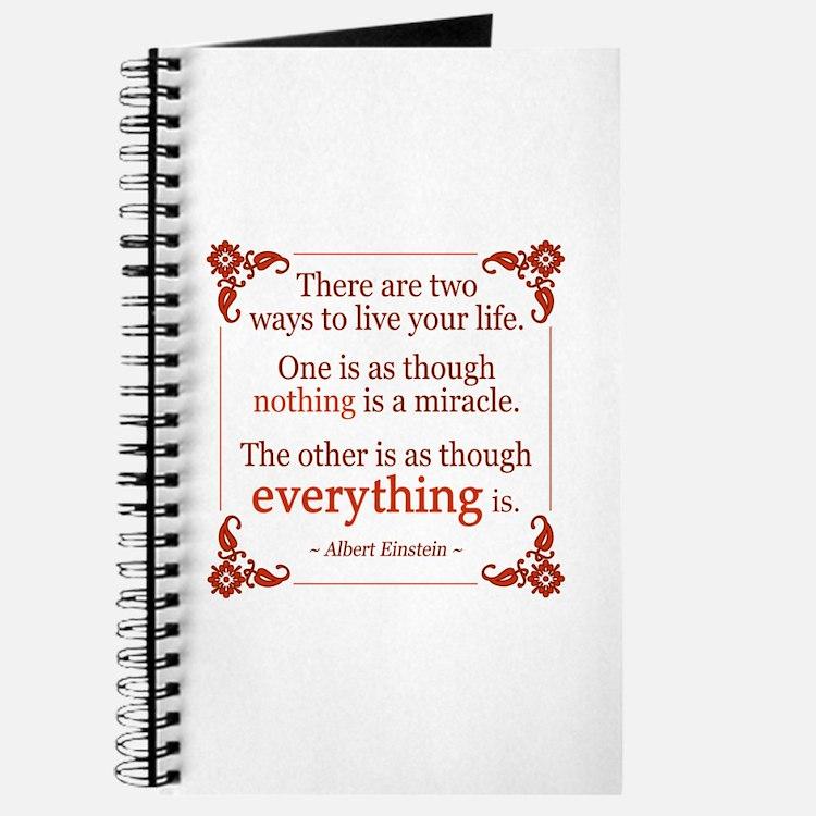 Einstein on Miracles Journal