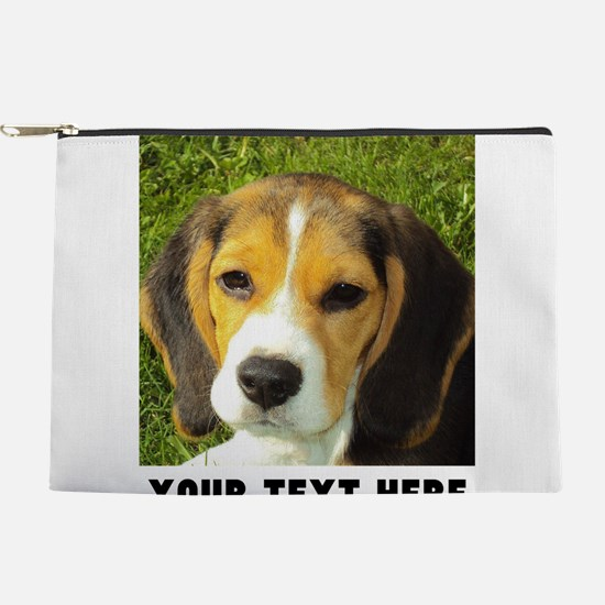 Dog Photo Personalized Makeup Pouch