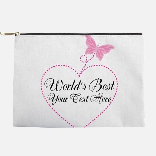 Personalized Worlds Best Makeup Pouch