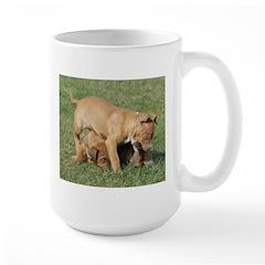 cutepupscropped.jpg Large Mug