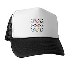 multi panda.png Trucker Hat