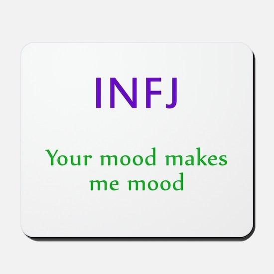 INFJ Moods Mousepad