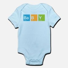 Periodic Table of Baby Infant Bodysuit