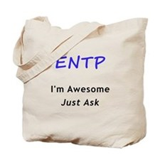 Awesome ENTP Tote Bag