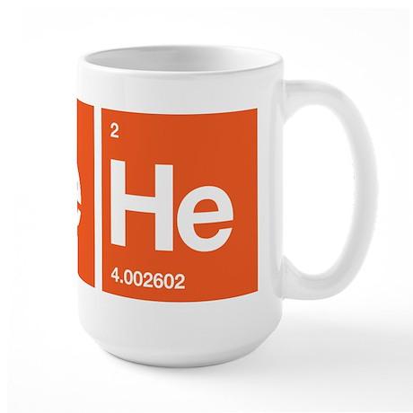 Periodic HeHe Large Mug