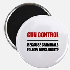 "Gun Control 2.25"" Magnet (10 pack)"