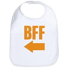 My BFF is on my right Bib