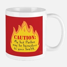 Hot Flash Mug (red)