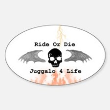 Ride or Die Sticker (Oval)