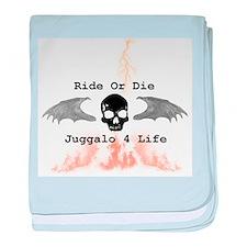 Ride or Die baby blanket