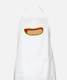 Cool retro hot dog Apron