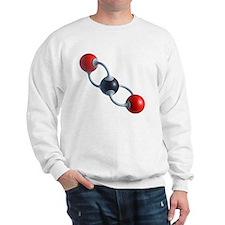 Carbon dioxide molecule - Sweatshirt
