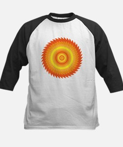 Trippy Sawblade Pattern Design Tee