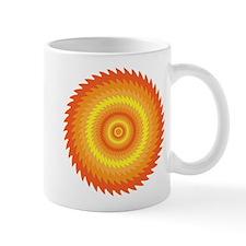 Trippy Sawblade Pattern Design Mug