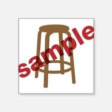 "Stool Sample Square Sticker 3"" x 3"""