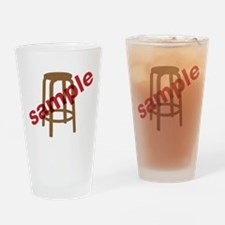 Stool Sample Drinking Glass