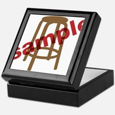 Stool Sample Keepsake Box