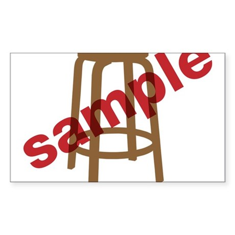 Stool Sample Sticker (Rectangle)
