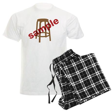 Stool Sample Men's Light Pajamas