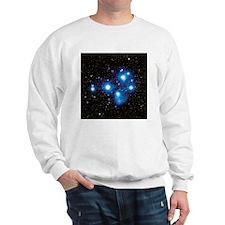Optical image of the Pleiades star cluste - Sweats