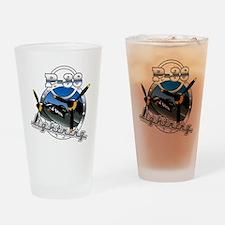 P38 Lightning.png Drinking Glass