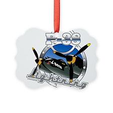 P38 Lightning.png Ornament