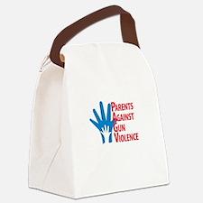 Unique Gun violence Canvas Lunch Bag