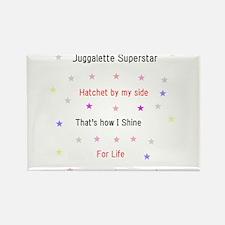 Juggalette Superstar Rectangle Magnet