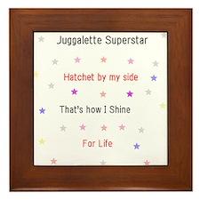 Juggalette Superstar Framed Tile