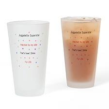 Juggalette Superstar Drinking Glass