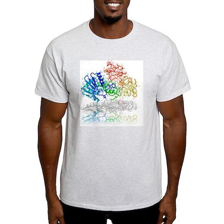 Ricin molecule - Light T-Shirt