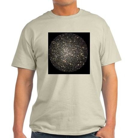 Globular cluster M13, HST image - Light T-Shirt