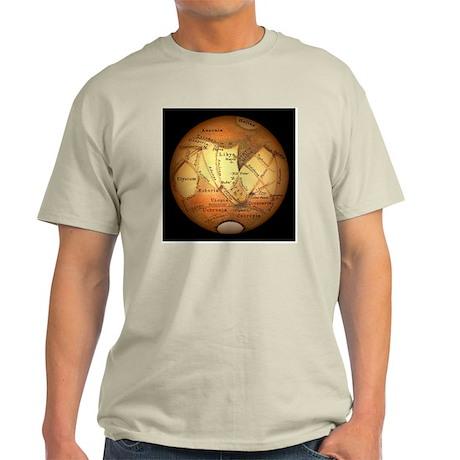 Schiaparelli's observations of Mars - Light T-Shir