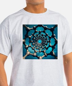 Carbon nanotube,artwork - T-Shirt