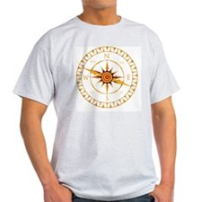 Compass rose - T-Shirt