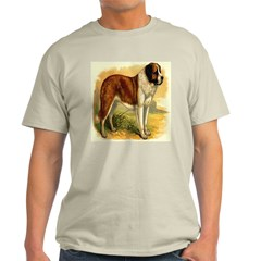 Nobel St. Bernard 1890 Digita Ash Grey T-Shirt