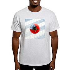 GM tomato, conceptual image - T-Shirt