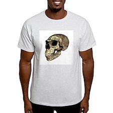 Neanderthal skull - T-Shirt