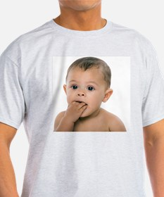 Teething baby girl - T-Shirt