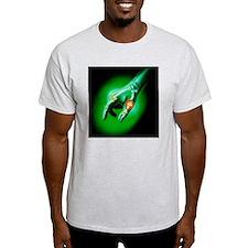 Artwork showing arthritis of a thumb joint - T-Shirt